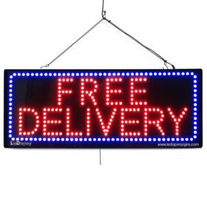 High Quality Large Led Open Signs Free Delivery 13 x32 Led factory 2672