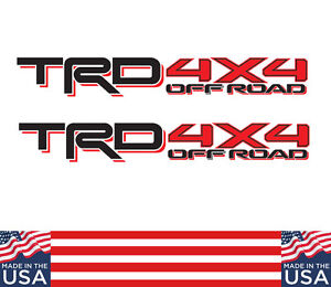 Toyota Trd 2016 Truck Off Road 4x4 Toyota Tacoma Die Cut Decal Vinyl Stickers N6