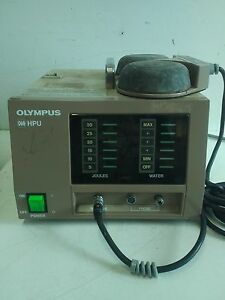 Olympus Hpu With Foot Switch