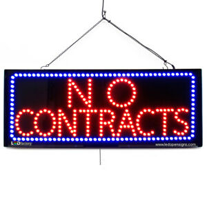 High Quality Large Led Open Signs No Contracts 13 x32 Led factory 2697