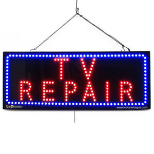 High Quality Large Led Open Signs Tv Repair 13 x32 Led factory 2711