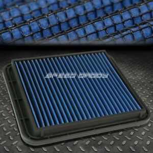 For Lexus Gs300 Is300 3 0l Blue Reusable Washable Drop In Air Filter Panel