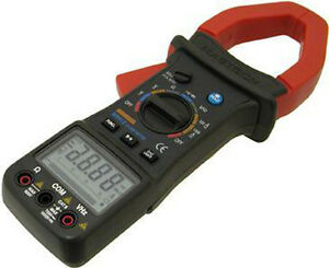 Mastech M9912 Digital Ac Clamp On Meter Multimeter New