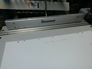 Stoesser Register Plate Punch System Polly Press Or Adast Press 15 75 C To C
