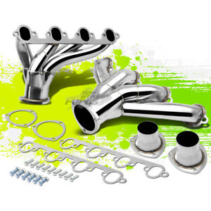 Ford Small Block Hugger 429 460 Stainless Steel Shorty Exhaust Header Manifold