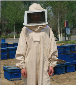 Insect Resistant Siamese Protective Suit Bee Keeping With Hood Bee Equipment A31