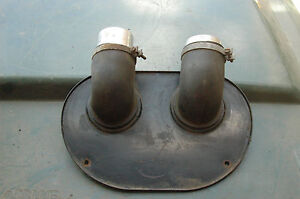 Mg Mgb Interior Cabin Firewall Heater Plate And Elbows