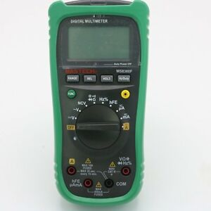 Mastech Ms8360f Auto Range Digital Multimeter Dmm Frequency Capacitor Ncv Hfe