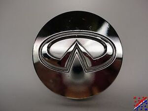 Genuine Factory Oem Infiniti Wheel Center Hub Cap Machined Chrome 2 1 8 54mm