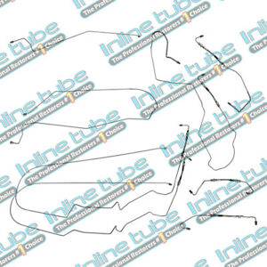 00 05 Chevrolet Monte Carlo Preformed Brake Lines Kit Abs With Flex Set Tubes Oe