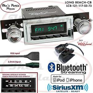 Retrosound Long Beach Cb Radio Bluetooth Ipod Usb 3 5mm Aux In 121 117 Chevy