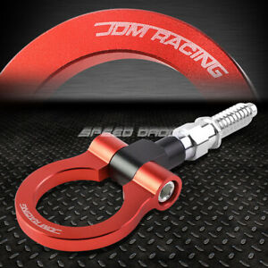 7 M15 8xp3 175 Red Front rear Tow Hook Ring 97 06 Bmw 3 5 7 Series 03 14 Mini