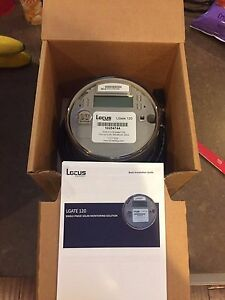 New Locus Lgate 120 Single phase Solar Revenue Grade Monitoring W Cellular Card