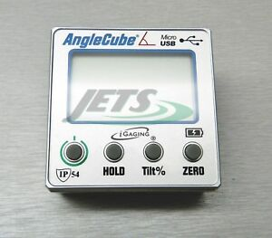 Gen 3 Igaging Angle Cube Ip54 Digital Level Inclinomer W Backlit Data Output