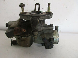 International C Tractor Original Take Off Carburetor