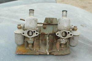 Mg Midget Sprite Bugeye 948 H1 Carburetor Set