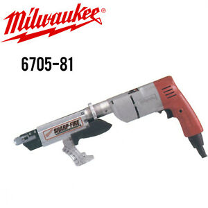 Milwaukee 6705 81 Sharp fire Screw Shooter W full Warranty 6705 21 Recon