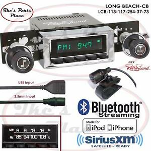 Retrosound Long Beach Cb Radio Bluetooth Ipod Usb 3 5mm Aux In 113 117 Nova