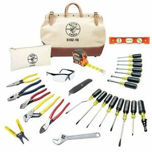 Klein 80028 Complete Electrician Tool Set 28 Pc