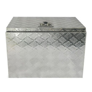 New 24 Inch Aluminum Trailer Truck Underbed Tool Storage Box Utility Box