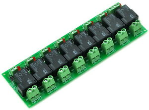 Coil 24v Passive 8 Channel Spst no 30a 30amp Power Relay Module