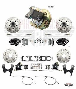 1975 78 Camaro Wilwood Caliper Rear Disc Conversion Delco Moraine Booster