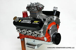 632ci Big Block Chevy Pro Street Engine 900hp Built To Order Dyno Tuned