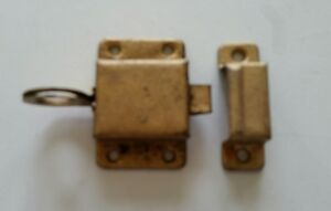 Old Vintage Metal Cabinet Latch Lock With Catch 368
