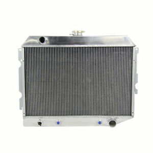 4 Row Radiator For 1970 1974 73 Mopar Dodge Challenger Charger Coronet Plymouth
