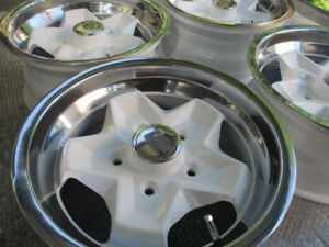 4x Porsche Ats Cookie Cutter Wheels 7x15 911sc Rs Rally 944 Bulli T2 Vw K fer