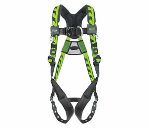 Miller Aircore Full Body Rescue Harness 2xl Front Back D rings Aaf tb23xg