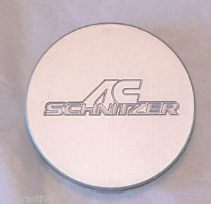 Bmw Ac Schnitzer Oem Silver Wheel Center Cap Round 75mm For Type Ii Type Iii