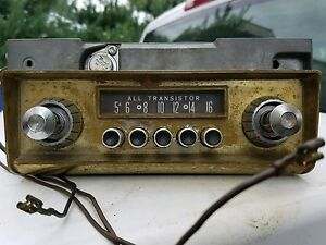 1960s Chrysler Am Radio