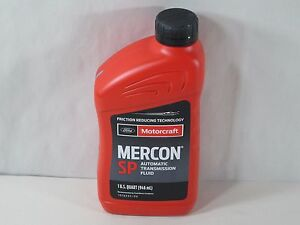 Motorcraft Mercon Sp Automatic Transmission Fluid Atf 1 Quart Xt6qsp