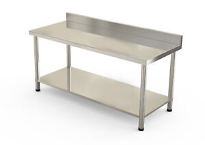 60 X 30 Stainless Steel Work Table Kitchen bar restaurant laundry Commercial