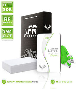 Ufr Classic Cs Rfid Nfc Reader Writer Usb 13 56mhz Free Sdk And Cards key Fobs