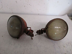 International C Tractor Original Lights