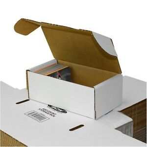 Lot Of 50 Small White Cardboard Shipping Boxes 7 X 3 3 4 X 2 3 4