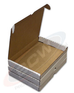 Case Of 50 Small White Cardboard Shipping Boxes 7 3 8 X 10 5 8 X 1 1 8