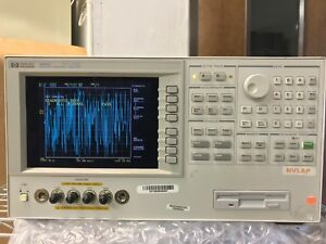 Hp agilent 4294a Precision Impedance Analyzer 40 Hz 110 Mhz