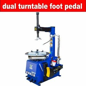 Single 1 5hp Tire Changer Wheel Changers Machine 560 With New Double Foot Pedal