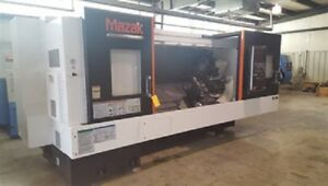 2015 Mazak Qtn 350my Y axis Live Tooling Steady Rest Cnc Lathe 7791719