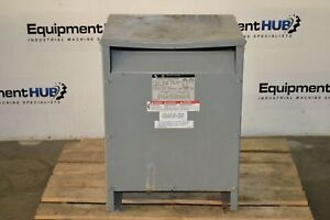 Square D 25s3h Transformer 25 Kva 1 Phase 240 480 Primary Volt