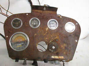 International 460 Tractor Original Dash