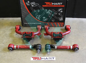 Truhart Front And Rear Camber Kit Combo For 04 08 Acura Tl