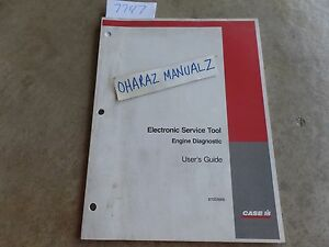 Case Electronic Service Tool Engine Diagnostic User Guide Manual