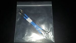 2 X Molex 89762 1370 26ghz 6 Sma Str Male To Sma Str Male