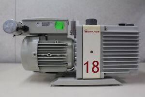 Edwards E1m18 Vacuum Pump