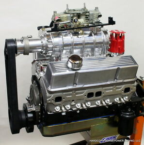 383ci Small Block Chevy Pro Street Engine Blown 625hp E85 Built To Order Dyno D
