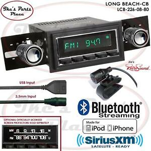 Retrosound Long Beach Cb Radio Bluetooth Ipod Usb 3 5mm Aux In 226 08 Mustang